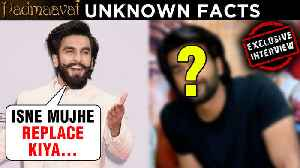Ranveer Singh Was REPLACED By This Actor For One Scene In Padmaavat [Video]