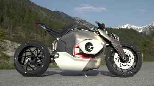 The BMW Motorrad Vision DC Roadster Design Video [Video]