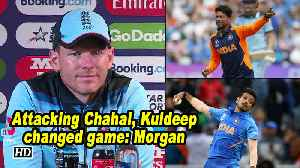 World Cup 2019 | Attacking Chahal, Kuldeep changed game: Morgan [Video]