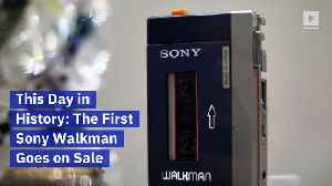 This Day in History: The First Sony Walkman Goes on Sale [Video]