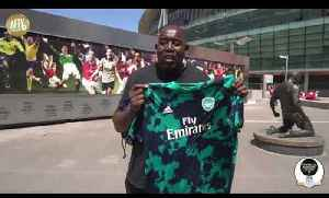 The New Arsenal Pre Match Kit By Adidas Unboxed! [Video]