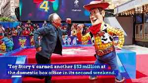 'Toy Story 4' Tops Weekend Box Office for Second Straight Week [Video]