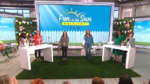 The Talk - Fun In The Sun Face-Off [Video]