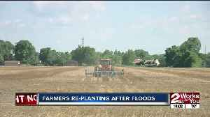 Farmers re-planting after floods [Video]