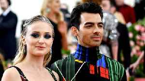 Joe Jonas And Sophie Turner Have Official Wedding In France [Video]
