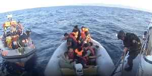 Portuguese Maritime Patrol Rescue 52 Migrants From Greek Waters [Video]