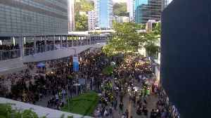 Hong Kong protests descend into chaos in direct challenge to China [Video]
