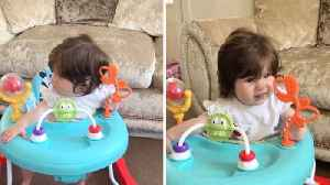 Baby Girl Has Shoulder Length Hair At Only Five Months Old [Video]
