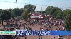 State Fair Makes Newsweek's Best Festivals List [Video]