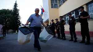 Polls close in Albania municipal election boycotted by opposition [Video]