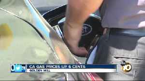California's gas tax up another 6 cents Monday [Video]