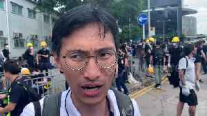 Pro-democracy Hong Kong lawmaker Eddie Chu Hoi Dick demands probe into police behaviour [Video]