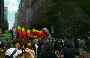 Thousands fill NYC streets for WorldPride parade [Video]