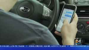 New Law Goes Into Effect Citing Commuters For Texting While Driving [Video]