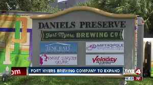 Fort Myers Brewing Company to Expand [Video]