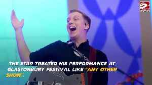 George Ezra relaxed about Glastonbury [Video]