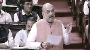 RS extends Pres Rule in J&K even as Amit Shah attacks Nehru's J&K policy [Video]
