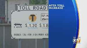 North Texas Tollway Authority Increases Toll Rates [Video]