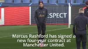 Marcus Rashford signs up for four more years at Manchester United [Video]