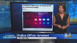 Steamboat Police Officer Placed On Leave [Video]