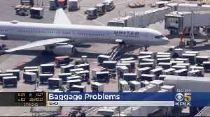 United Passengers Reporting Delays Due To Baggage Problems At SFO [Video]