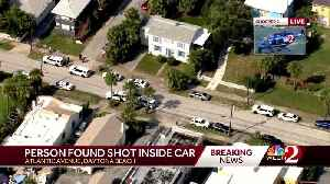 Person found shot inside vehicle in Daytona Beach, officials say [Video]