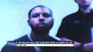 Racine police officer's alleged killer appears in court [Video]
