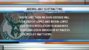 The latest on Bucks free agency moves [Video]