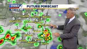 Muggy with a chance of storm Monday night [Video]