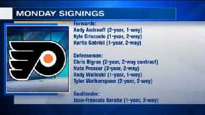 Flyers Moves In Day 1 Of Free Agency [Video]