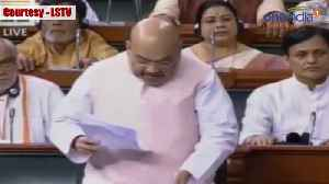 Home Minsiter Amit Shah proposes 6 month Extension of President's Rule in Jammu Kashmir | Oneindia [Video]