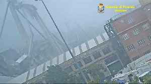 Previously unseen footage shows moment of Genoa bridge collapse [Video]