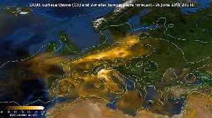 Watch: How the June heatwave unleashed a pollution bloom over Europe [Video]