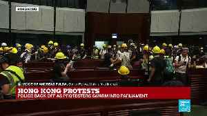 Hong Kong Protests: Police Back off as Protesters Swarm Into Parliament [Video]