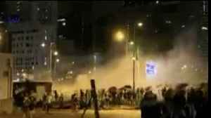 Riot Police Fire Tear Gas, Swiftly Clearing Protesters From Government Premises [Video]