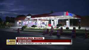 Armed robbery at gas station in Dearborn [Video]