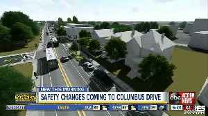 Safety changes coming to Columbus Drive from Nebraska Avenue to 14th Street in Tampa [Video]