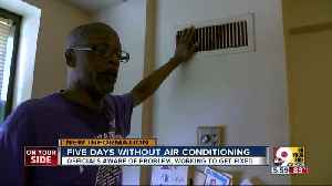 Public housing crisis: Residents living without air conditioning in CIncinnati [Video]