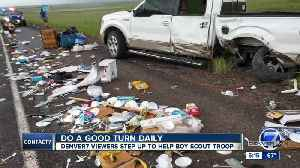 Do a good turn daily: Denver7 viewers step up to help Denver-area Boy Scout troop [Video]