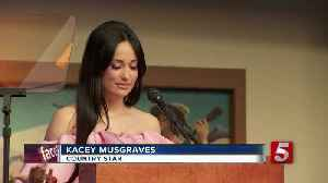 acey Musgraves exhibit to open at CMHOF [Video]