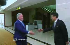 News video: Special Swedish envoy arrives in North Korea