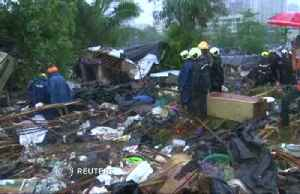 Flood and wall collapse in Mumbai kills 13 [Video]