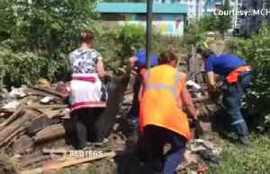 News video: Severe floods destroy homes, cause evacuation in Siberia