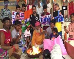 Fans perform 'hawan' ahead of India Bangladesh clash [Video]