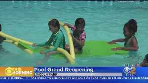 Lincoln Park Pool Reopens After 10-Year Closure [Video]