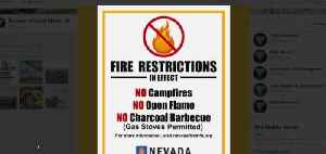 Fire restrictions in effect [Video]