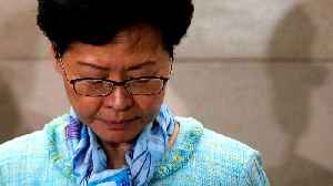 China condemns violent actions in Hong Kong, backs Carrie Lam [Video]