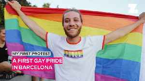My First Protest: A first gay pride in Barcelona [Video]