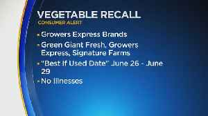 Multiple Fresh Vegetable Products Recalled Due To Listeria Concerns [Video]