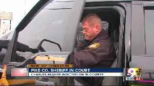 Pike County sheriff pleads not guilty to all charges, surrenders keys to courthouse [Video]